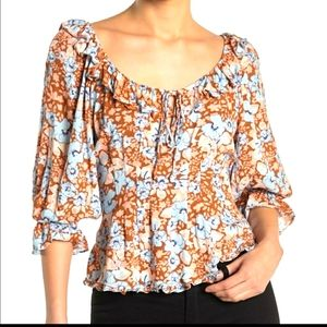 NWT Free People Blouse X-LARGE